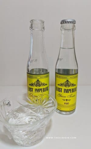 East Imperial Yuzu Tonic Water Poured