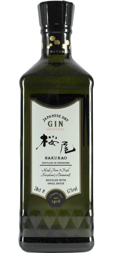 Sakurao Gin Bottle