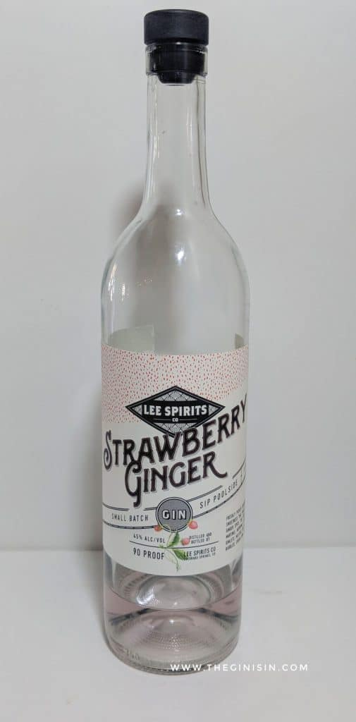 Strawberry Ginger Gin