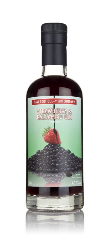 Strawberry & Balsamico Gin