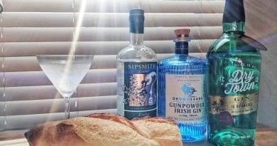 Is there gluten in gin?
