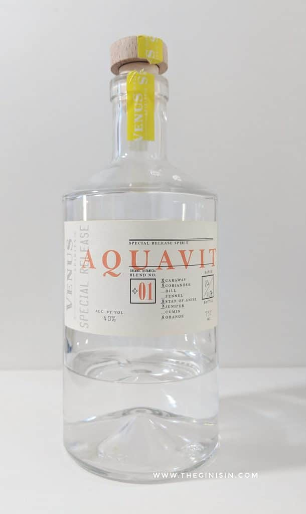 Venus Spirits Aquavit Blend No. 1