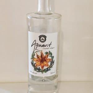 Temple Distilling Aquavit Bottle