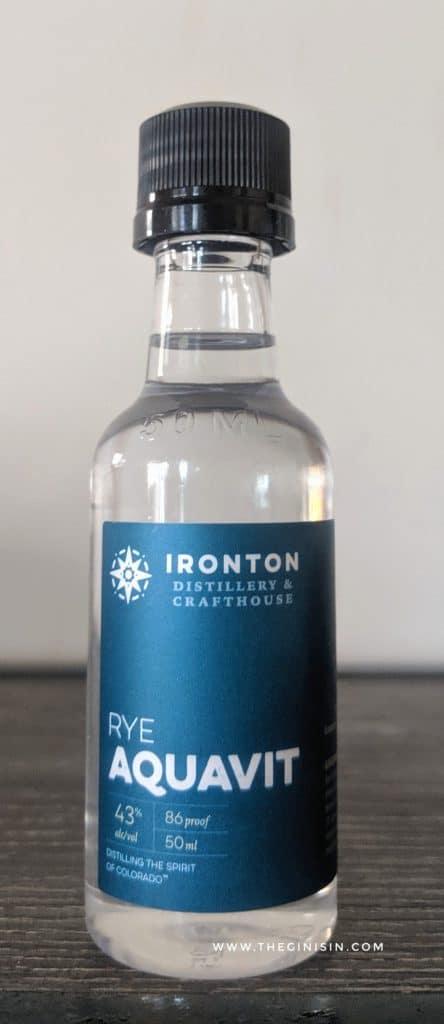 Rye Aquavit Bottle