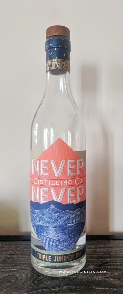Triple Juniper Gin Bottle
