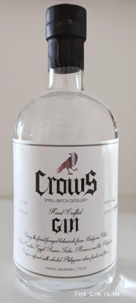Crows Gin Bottle
