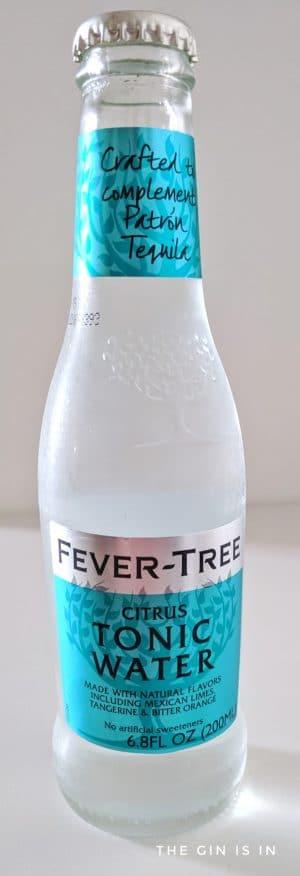 Fever Tree Citrus Tonic Water Bottle