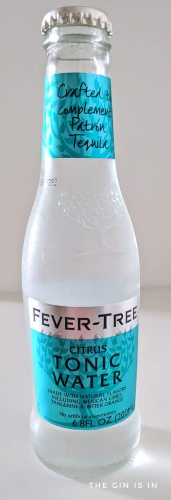 Fever Tree Citrus Tonic Water Bottle
