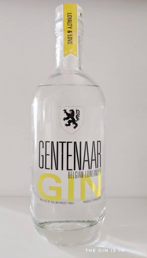 Gentenaar Gin bottle