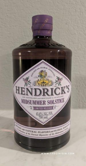 Hendricks Midsummer solstice bottle