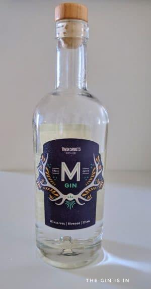 M Gin Bottle