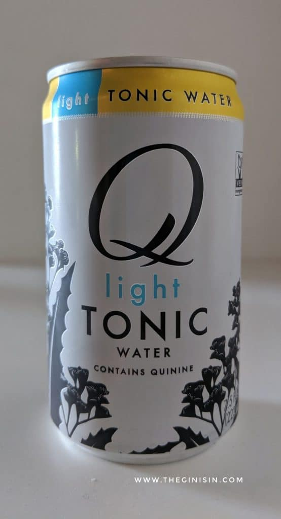Q Light Tonic Water Can
