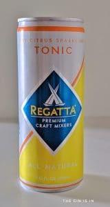 Regatta Dry Citrus Sparkling Tonic