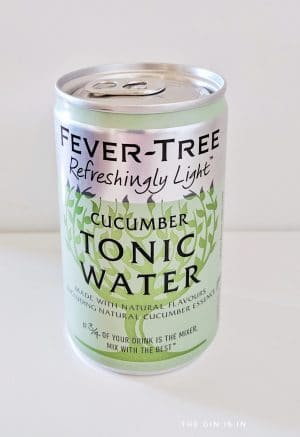 Fever Tree Cucumber Tonic Water
