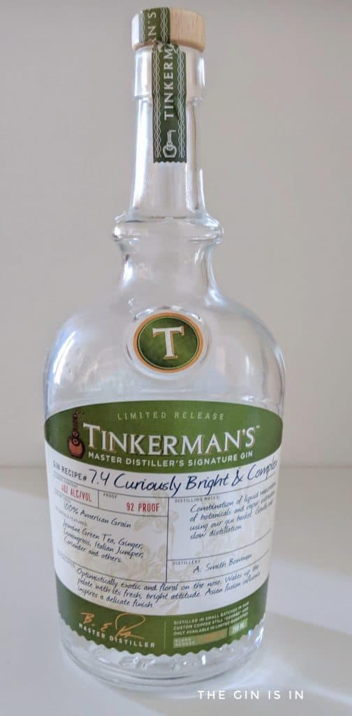 curiously bright and complex gin