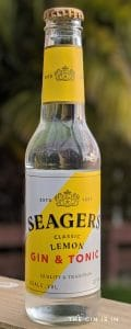 Seager's Classic Lemon Gin and Tonic