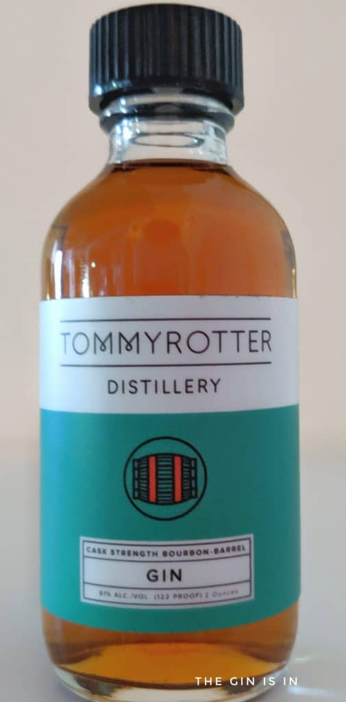 Tommyrotter Distillery Cask Strength Bourbon Barrel Gin