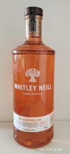 Whitley Neill Blood Orange Gin Botle