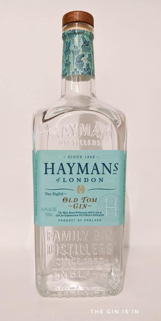 Hayman's Old Tom Gin Bottle