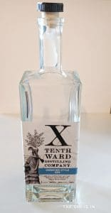 Tenth Ward Distilling Company Genever Style Gin