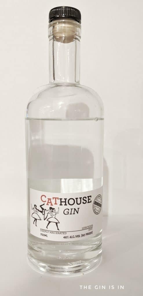 Cathouse Gin Bottle