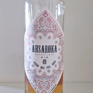 Absaroka Double Cask Gin 49