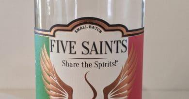 Five Saints Savory Tuscan Style Gin