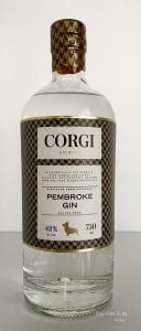 Corgi Pembroke Gin Bottle Photo