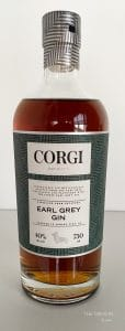 Corgi Spirits Earl Grey Gin Bottle