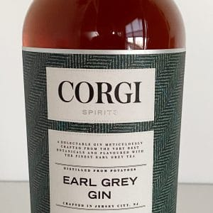 Corgi Spirits Earl Grey Gin Bottle