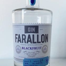 Blackfruit Gin Bottle