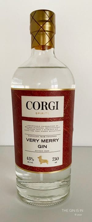 Very Merry Gin Bottle