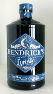 Hendrick's Lunar Gin Bottle