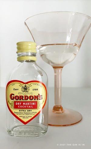 Gordon's Dry Martini Cocktail