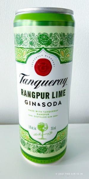 Tanqueray Rangpur Lime Gin and Soda