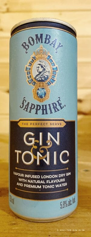 Bombay Sapphire Gin and Tonic