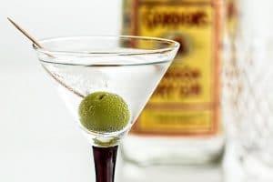 A Gordon's Martini