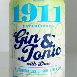 1911 Gin and Tonic