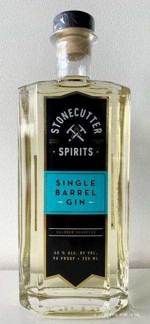Stonecutter Spirits Single Barrel Gin
