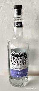 Fraser Valley Gin with notes of Lavender and Hibiscus